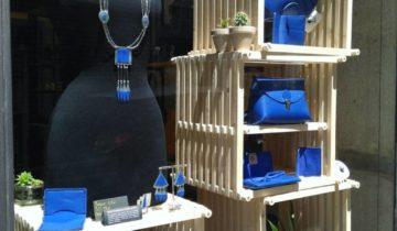 Collaboration cuir & métal : Sarah Jeannot  & Famethic
